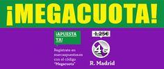 el forero jrvm y todos los bonos de deportes: marca apuestas megacuota Sporting vs Real Madrid L...