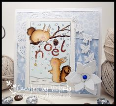 Vixx Handmade Cards: LILI OF THE VALLEY SNEAK PEEK....CHRISTMAS IS COMI...