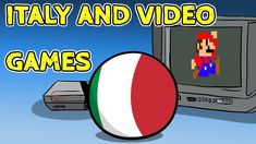 awesome Video Games - Italy meets video games - Countryballs #Video #Games #Youtube
