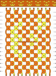 Halloween Bracelet Pattern