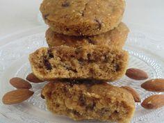 Ma petite cuisine gourmande sans gluten ni lactose: Cookies à l'amande et aux pépites de chocolat