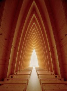 St. Henry's Ecumenical Art Chapel in Turku, Finland; by Matti Sanaksenaho
