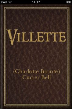 by Charlotte Bronte, I loved this book I Love Books, Great Books, Books To Read, My Books, Elementary My Dear Watson, Adventures Of Sherlock Holmes, Bronte Sisters, Read Aloud, Book Lists