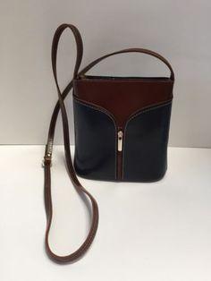 Genuine ITALIAN LEATHER Cross Body Handbag from Florence Italy bbb9b6ba741f3