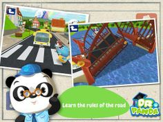 Dr. Panda's Bus Driver - a set of simple activities related to a bus driver's work (drive passengers to various destinations, fill up the gas, go through a wash etc). Original Appysmarts score: 86/100