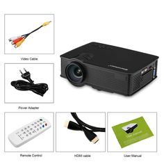 Online shopping for LED Projector with free worldwide shipping Projector Price, Projector Hd, Pc Android, Home Theater Projectors, Quad, Wifi, Online Shopping, Things To Sell, Electronics