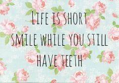 Smile #quote