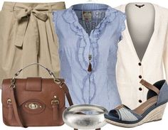 Super cute summer outfit! perfect for a young teacher