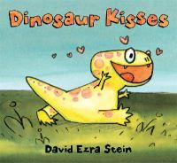 For newly hatched dinosaur Dinah, the world is an exciting place. There is so much to see and do. She tries this — STOMP! And she tries that — CHOMP! Then she sees a kiss and knows just what she wants to try next. Who can she kiss? And after a few disastrous attempts, can she figure out how to give someone a kiss without whomping, chomping, or stomping them first? Young children will chuckle and cheer when Dinah finds the right creature for her dinosaur kisses in this funny new picture book.