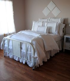 King Size DuvetMaisie Linen Bedding by RubyandStellaHome on Etsy, $215.00