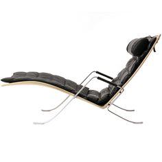 Grasshopper Chaise By Preben Fabricius And Jorgen Kastholm