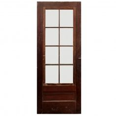 "Reclaimed 32"" Divided Light Storm Door"