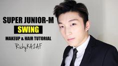 SuperJunior-M [Swing] Makeup & Hair Tutorial - RickyKAZAF