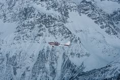 High Flying in the Alps: With a landing strip of only 600 meters, the altiport in Megève requires a pilot to hone in on their target. Landing Strip, Alps, Mount Everest, Pilot, Target, Mountains, Landscape, Architecture, Life