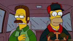 Flanders y Homero al rescate de los niños