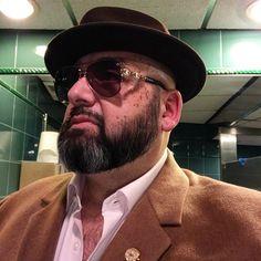 How to take a bathroom selfie mafia style! #Lifestyle #blogger #vlogger #foodie #fashion #style #GQ #beard #beardlife #bear #sexy #selfie #sunglasses #mensstyle #mensfashion #hip #cool #VIP #fatman #ootd #mafia #mob #mobboss #sexyman #streetstyle #DoTube #travel #photooftheday #fashionpost