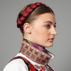 Bunad from Telemark Folk Costume, Costumes, Viking Series, Norwegian Style, Inkle Loom, 1940s Fashion, Norway, Female, Celebrities