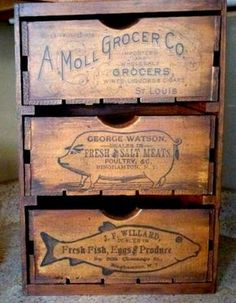 Today's reader feature is from Jess, who submitted her awesome 3 Drawer DIY Veggie Bin! She put together these 3 crates, and then painted them heavily with milk paint. After that, she used a heavy hand and glazed them, dry brushed and fly specked them as well. She used the Fish, Pig, and Grocery graphics, and …