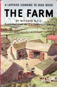 THE FARM Vintage Ladybird Book Series 563 Matt Hardback