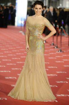 Blanca Suárez, una de las mejor vestidas en la gala de los Premios Goya