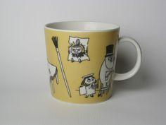 Moomin Mugs, Tove Jansson, Little My, Troll, Finland, Illustration Art, Tableware, Dinnerware, Dishes