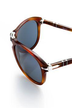 Persol Steve McQueen sunglasses.