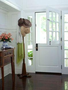 Dutch Door in white