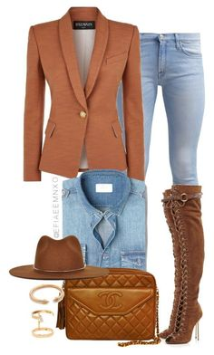 Whiskey by efiaeemnxo on Polyvore featuring polyvore moda style Balmain 7 For All Mankind Emilio Pucci Chanel Repossi Vita Fede Janessa Leone MANGO MAN fashion clothing - plus size mens clothing, mens clothing online stores, online mens clothing