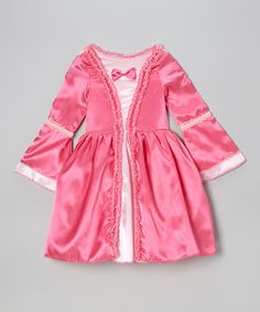 Fuchsia Fairy Tale Bow Dress - Toddler & Girls | Daily deals for moms, babies and kids