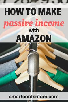 passive income ideas | ways to make money on Amazon | extra income ideas via @https://www.pinterest.com/smartcents/