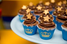 Baby Cakes, Baby Shower Cakes, Baby Boy Shower, Little Prince Party, The Little Prince, Mickey Party, Candy Table, Cupcakes, Cakes For Boys