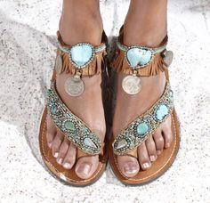 Boho sandal Mzury Soul Native, maat 37 tot en 42. Verkrijgbaar vanaf medio maart 2016 bij Hippie Ibiza!
