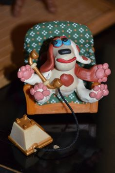 Doggy on the phone