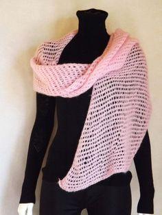 Палантин на заказ шарф на заказ шарф из мохера от LeanaKonovalova