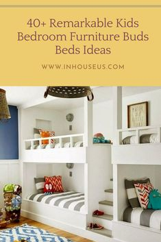 40+ Remarkable Kids Bedroom Furniture Buds Beds Ideas #kidsbedroom #bedroomfurniture Kids Bedroom, Space Saving Beds, Kids Bedroom Furniture, Bed, Furniture, Bedroom Diy, Bedroom, Bedroom Flooring, Bedroom Furniture