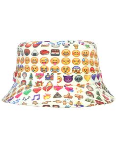 8e39ad2209a emoji bucket hat - Shop Jeen s emoji bucket hat is designed by urban  retailer O-Mighty.