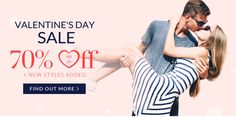 Valentine Day Special 70% OFF with dresslily Coupon Code 2017 http://couponscops.com/store/dresslily #dresslily #couponscops #valentineday DressLily Coupon Codes 2017, DressLily 2017 Discount Codes, DressLily Promo Codes 2017, DressLily Voucher Codes, couponscops.com