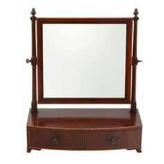 American Mahogany Dressing Mirror from Solvang Antiques on Ruby Lane