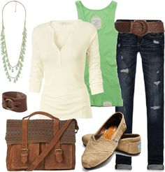 """""""Back to School: Comfy Casual"""" by heather-rolin on Polyvore"""
