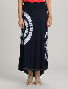 roz & ALI™ High-Low Maxi Skirt