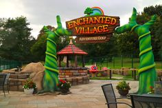 Enchanted Village Bromley built by ROCKARTuk Limited