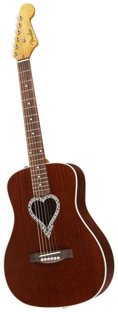 Fender Alkaline Trio Malibu Mahogany Acoustic Guitar Natural (via Musician's Friend)