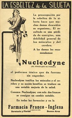 Farmacia FRANCO-INGLESA, década del 30.