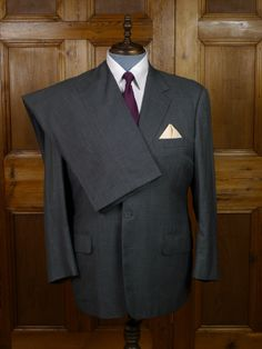 Maurice Sedwell Savile Row Bespoke Grey Wool Suit. Maurice Sedwell. Learn from Savile Row legend Andrew Ramroop in our Savile Row tailoring course: https://www.mastered.com/courses/8 £1000