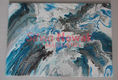Sturmgebilde,Silvia Nowak Mannheim-Abstrakte Kunst, Moderne Kunst, Acrylbilder, Acrylfarben, Acryl, Acrylic Painting, Abstract Canvas, Art Painting, Fluid Acryl, Fluid Acrylic, Fluid Painting, Fluid Canvas, Abstract Painting,