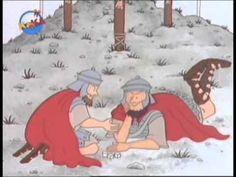 Das erste Ostern (Kinderfilm) Comic Cartoon