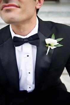 classic elegance in a boutonniere