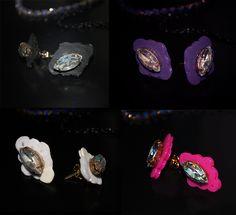 Light Crystal Earrings Crystal Earrings, Diamond Earrings, Victorian Gothic, Class Ring, Chokers, Fashion Jewelry, Crystals, Trendy Fashion Jewelry, Crystal
