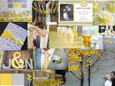 Wedding inspiration, right this way! Check out Dessy's wedding inspiration board gallery and discover fresh wedding board ideas you love. Plan your dream wedding here! Wedding Notes, Wedding Wishes, Diy Wedding, Dream Wedding, Wedding Ideas, Wedding Stuff, Yellow Wedding Colors, Yellow Grey Weddings, Gray Weddings