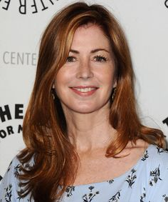Dana Delany Hairstyle - Casual Long Straight
